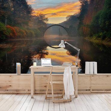 Fototapete Märchenbrücke