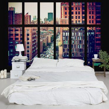 Fototapete New York Fensterblick III