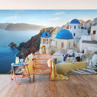 Fototapete Santorini