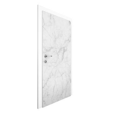 Türtapete - Bianco Carrara
