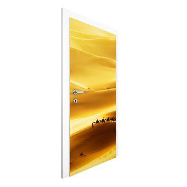 Türtapete - Golden Dunes