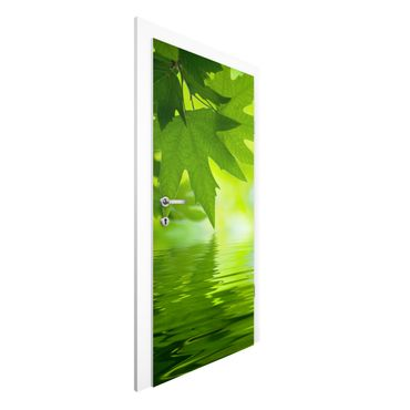 Türtapete - Green Ambiance III