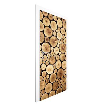 Türtapete - Homey Firewood