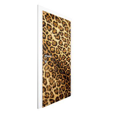 Türtapete - Jaguar Skin