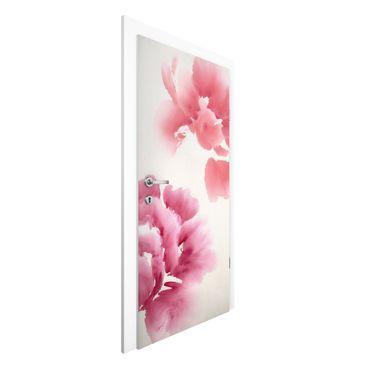 Türtapete - Künstlerische Flora II