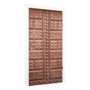Türtapete - Maurische Holztür in Alhambra