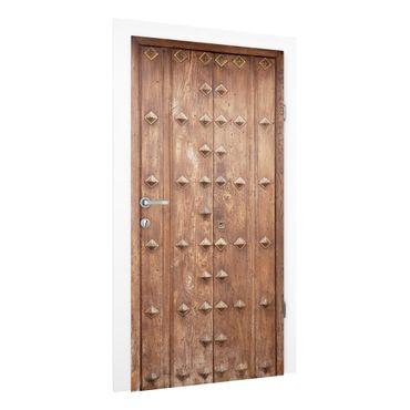 Türtapete - Rustikale spanische Holztür