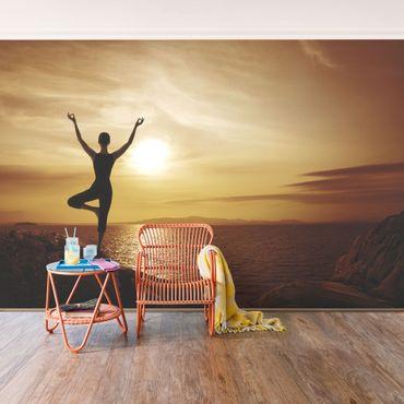 Fototapete Yoga