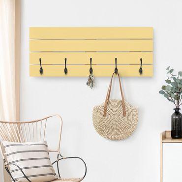 Wandgarderobe Holz - Honig