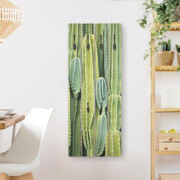Wandgarderobe Holz - Kaktus Wand