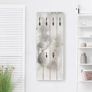 Wandgarderobe Holz - Mystische Objekte III