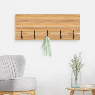 Wandgarderobe Holz - Weißtanne