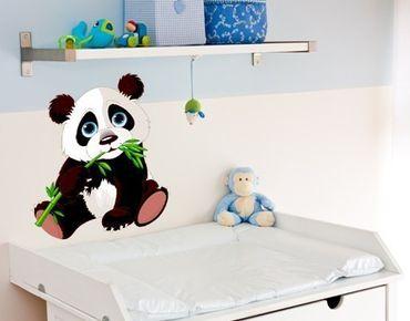 Wandsticker Panda Baby
