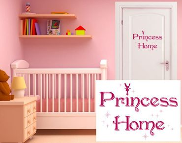 Wandsticker Princess Home