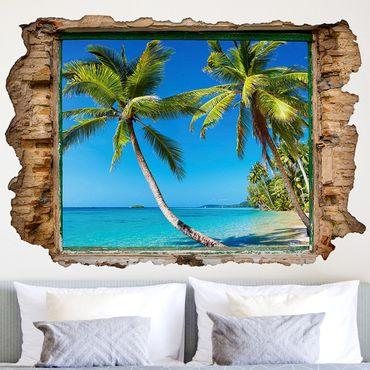 3D Wandtattoo - Beach of Thailand - Quer 2:3