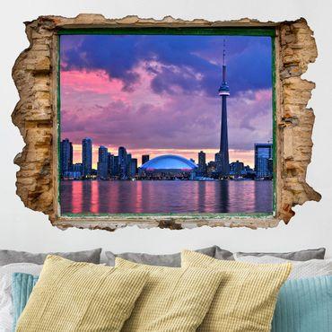 3D Wandtattoo - Fascinating Toronto - Quer 2:3