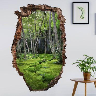 3D Wandtattoo - Growing Trees - Hoch 3:2