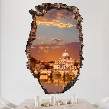 3D Wandtattoo - Vatikan - Hoch 3:2