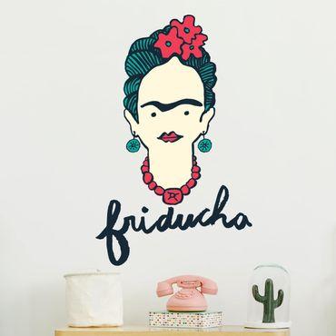 Wandtattoo - Frida Kahlo - Friducha