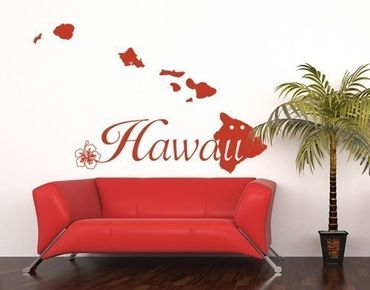 Wandtattoo Hawaii