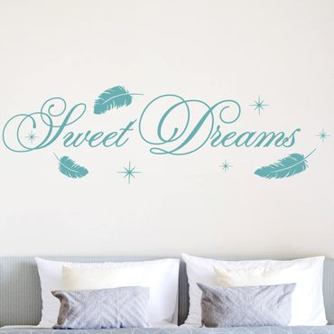 Wandtattoo Kinderzimmer Sweet Dreams