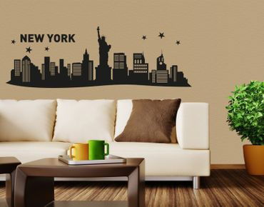 Wandtattoo New York City Skyline
