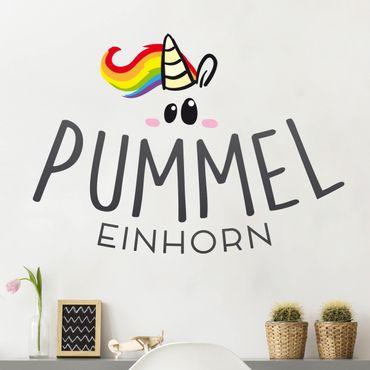 Wandtattoo Pummeleinhorn Logo