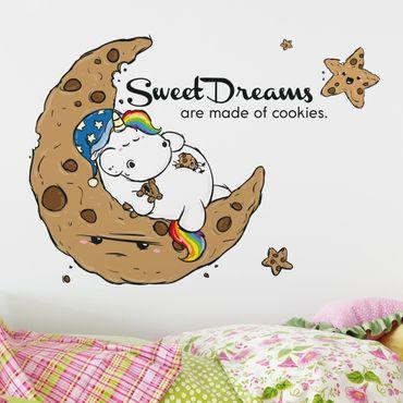 Wandtattoo Pummeleinhorn Sweet Dream