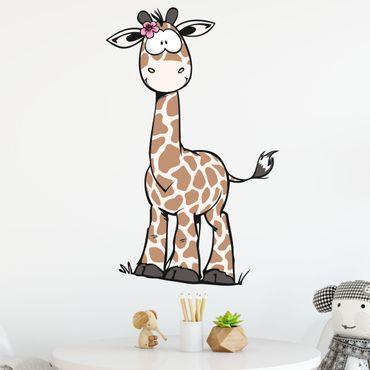 Wandtattoo Wild Friends Giraffe Debbie