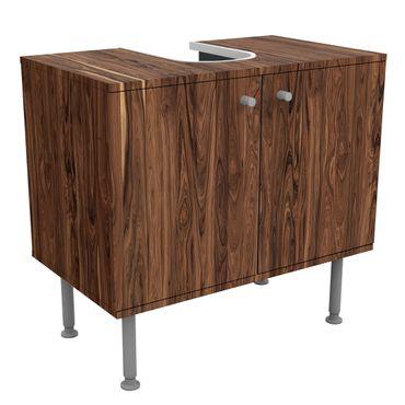 Waschbeckenunterschrank - Holz Santos Palisander - Holzoptik Badschrank Braun