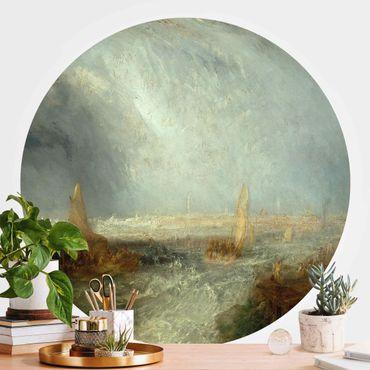 Runde Tapete selbstklebend - William Turner - Ostende