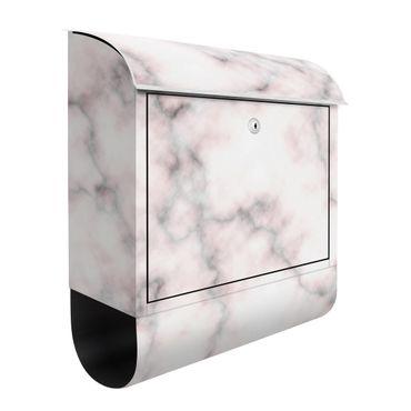 Briefkasten - Zarte Marmoroptik