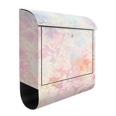 Briefkasten - Zarter Blütentraum in Pastell