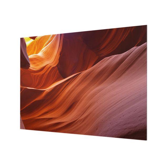 Glas Spritzschutz - Inner Canyon - Querformat - 4:3