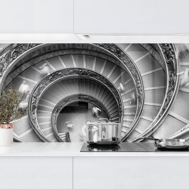 Küchenrückwand - Bramante Treppe