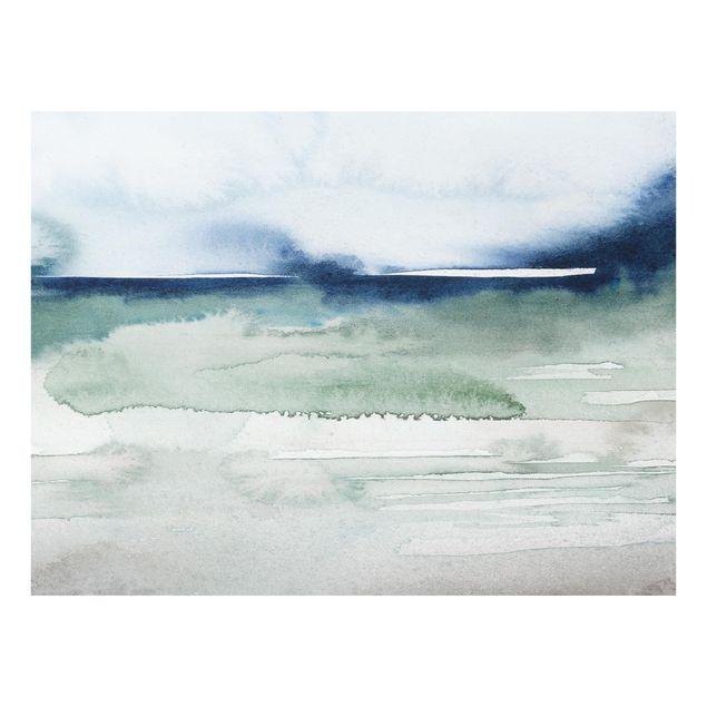 Glas Spritzschutz - Meereswogen I - Querformat - 4:3