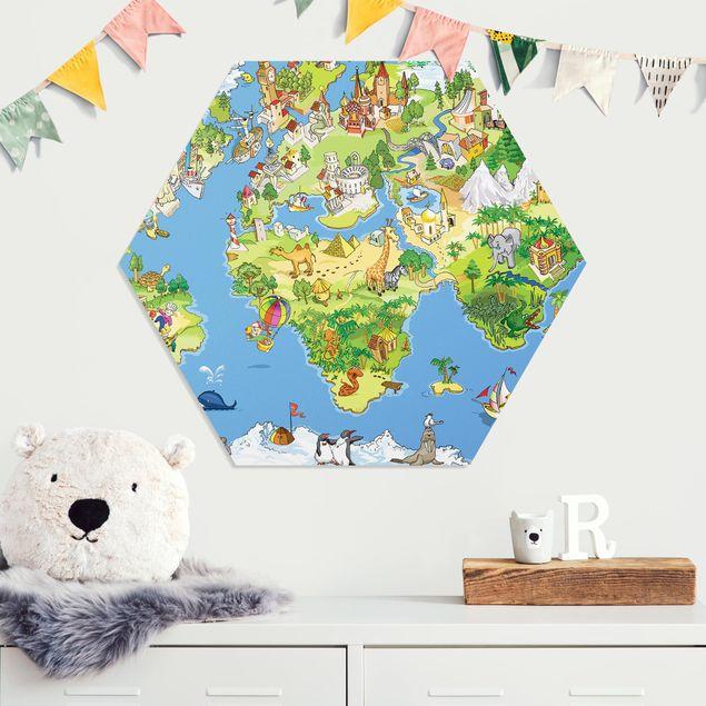 Hexagon Bild Forex - Great and funny Worldmap