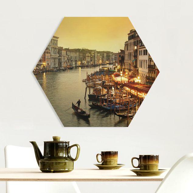 Hexagon Bild Forex - Großer Kanal von Venedig