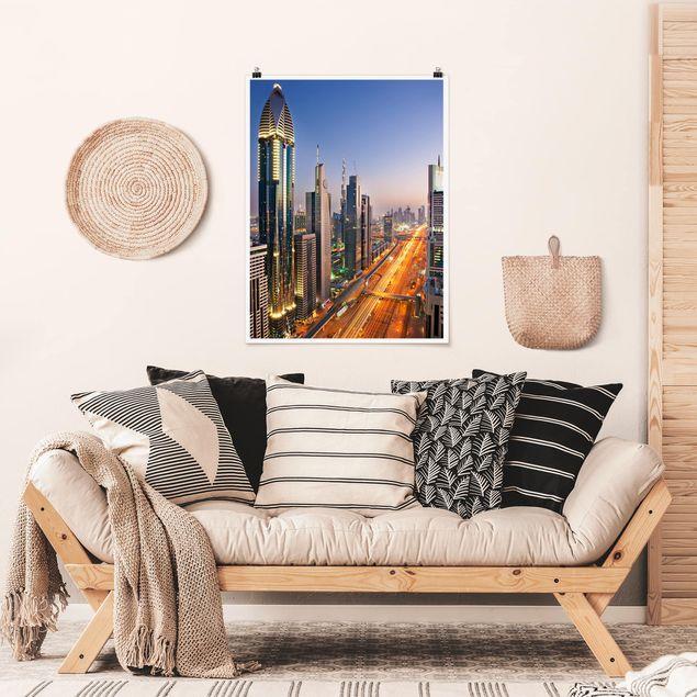 Poster - Dubai - Hochformat 3:4