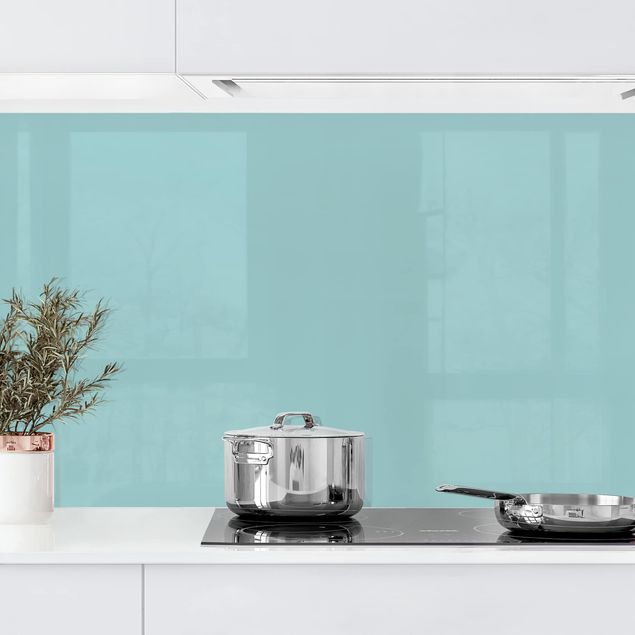 Küchenrückwand - Pastelltürkis