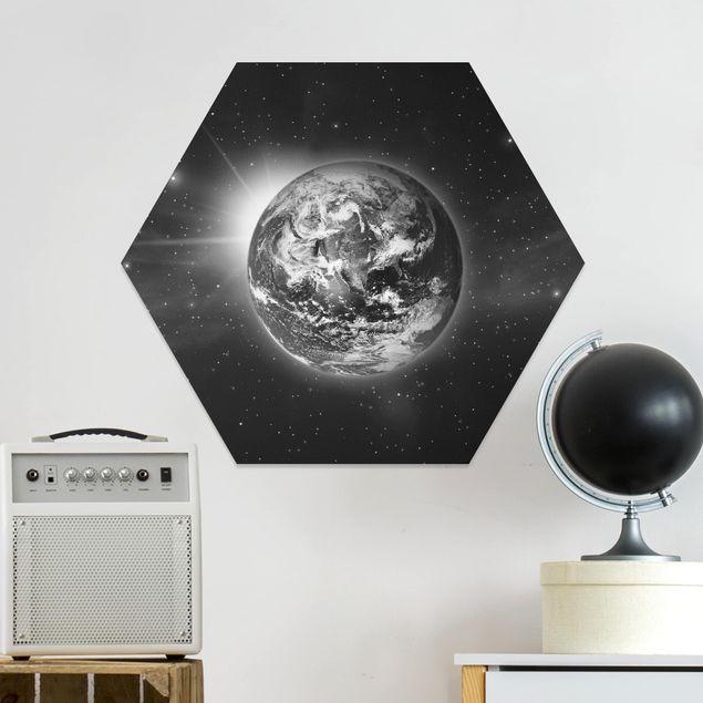 Hexagon Bild Forex - Weltall II