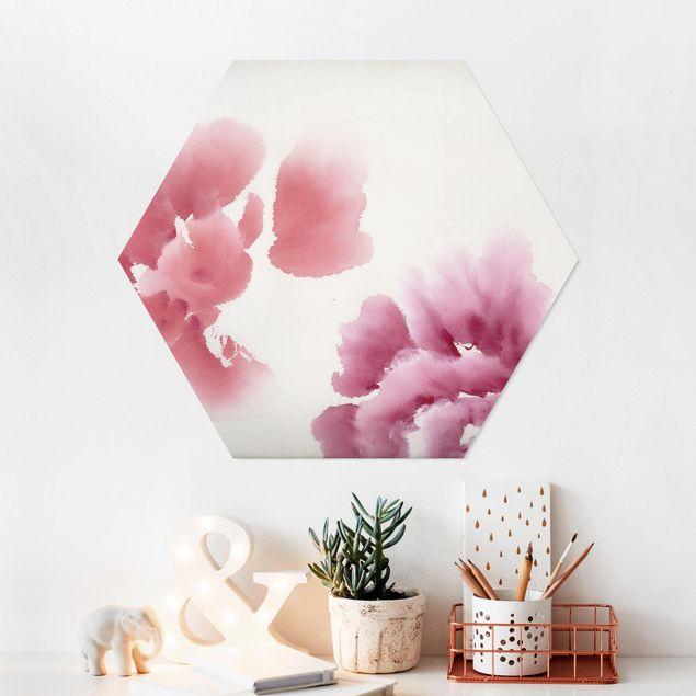 Hexagon Bild Forex - Künstlerische Flora II