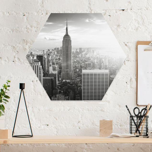 Hexagon Bild Forex - Manhattan Skyline