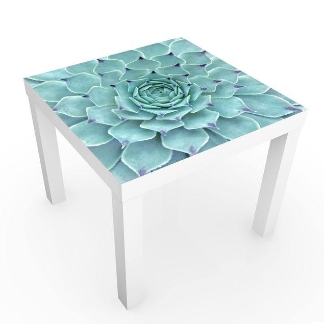 Möbelfolie für IKEA Lack - Kaktus Agave - Klebefolie