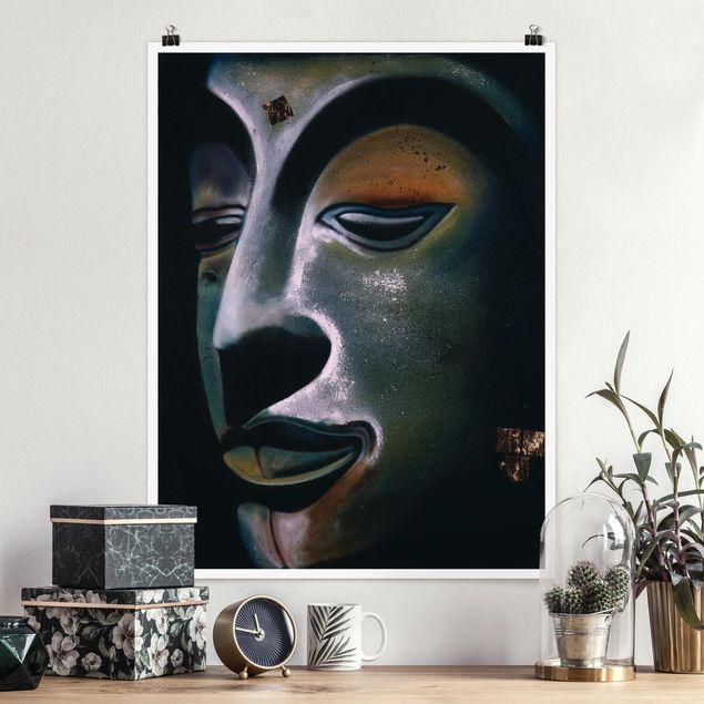 Poster - Assam Buddha - Hochformat 3:4