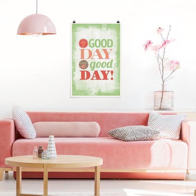 Poster - No.EV21 A Good Day - Hochformat 3:2