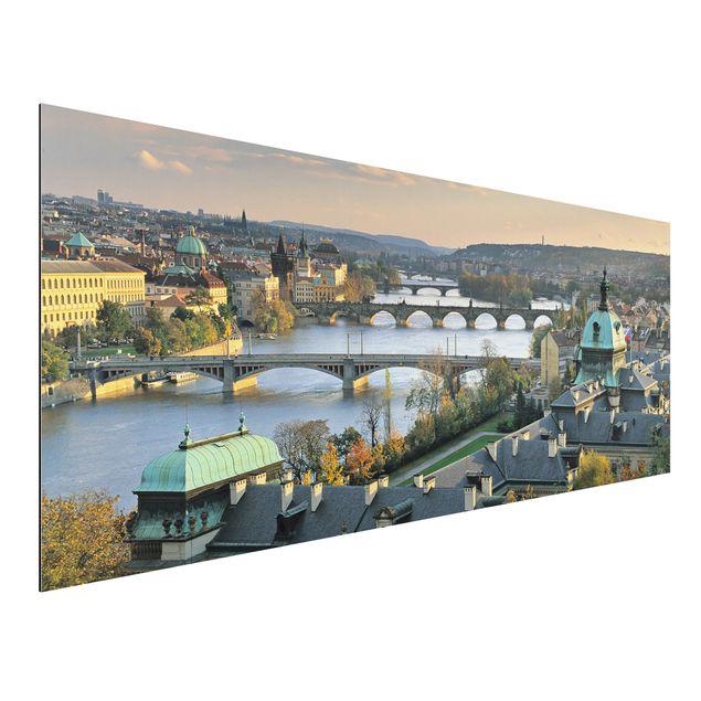 Alu-Dibond Bild - Prag