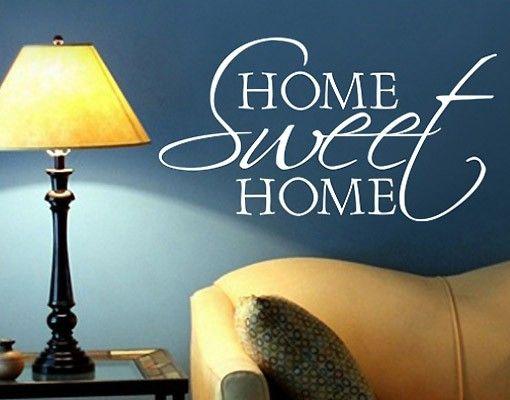 Wandtattoo Sprüche - Wandworte No.BR133 Home Sweet Home