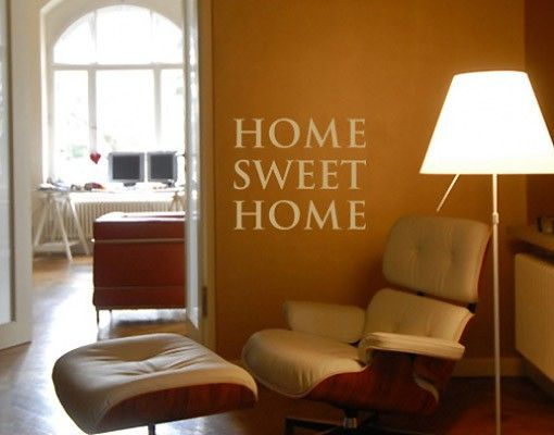 Wandtattoo Sprüche - Wandworte No.SF192 home sweet home 2