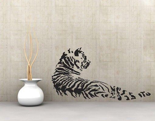 Wandtattoo Tiger No.UL170 Tiger